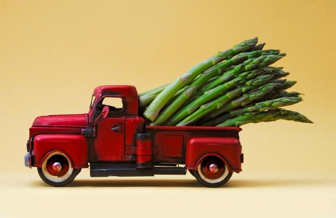 giant asparagus